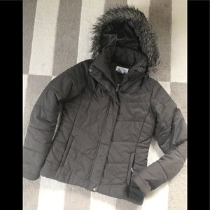 Columbia coat with hood women's XS